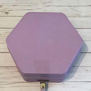 Vintage lilac cosmetic case